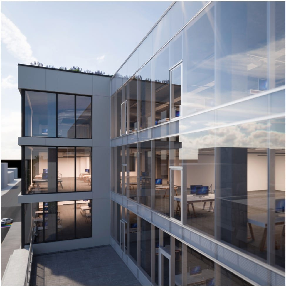 What Capitol Hill's New Kelly Springfield Office Building